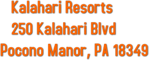 Kalahari Address