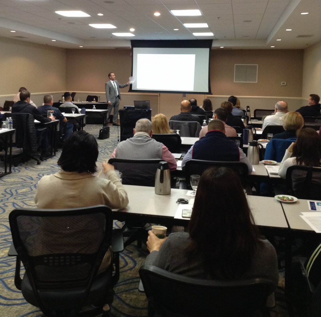 CE Seminar lead by PCA's General Counsel, Jason Martin Esq.