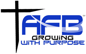 "Ambassadors for Business ""growing with purpose"" logo"