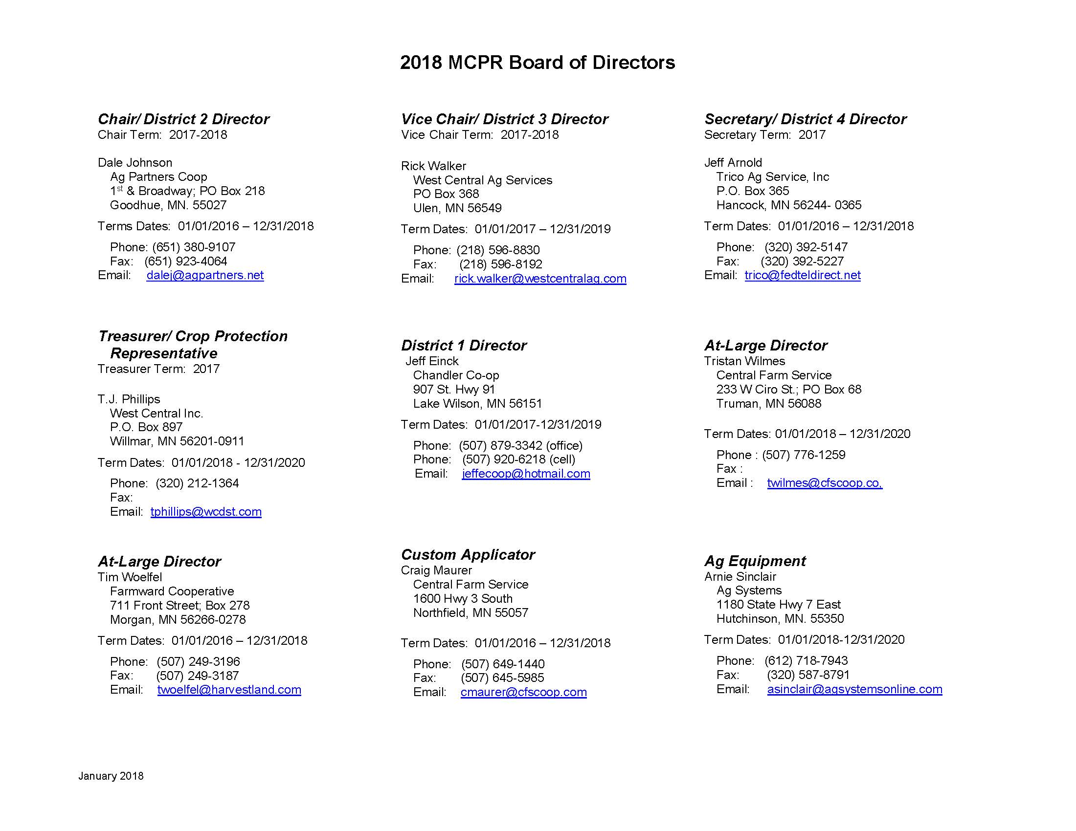 2018 MCPR Board of Directors_March2018_Page_1