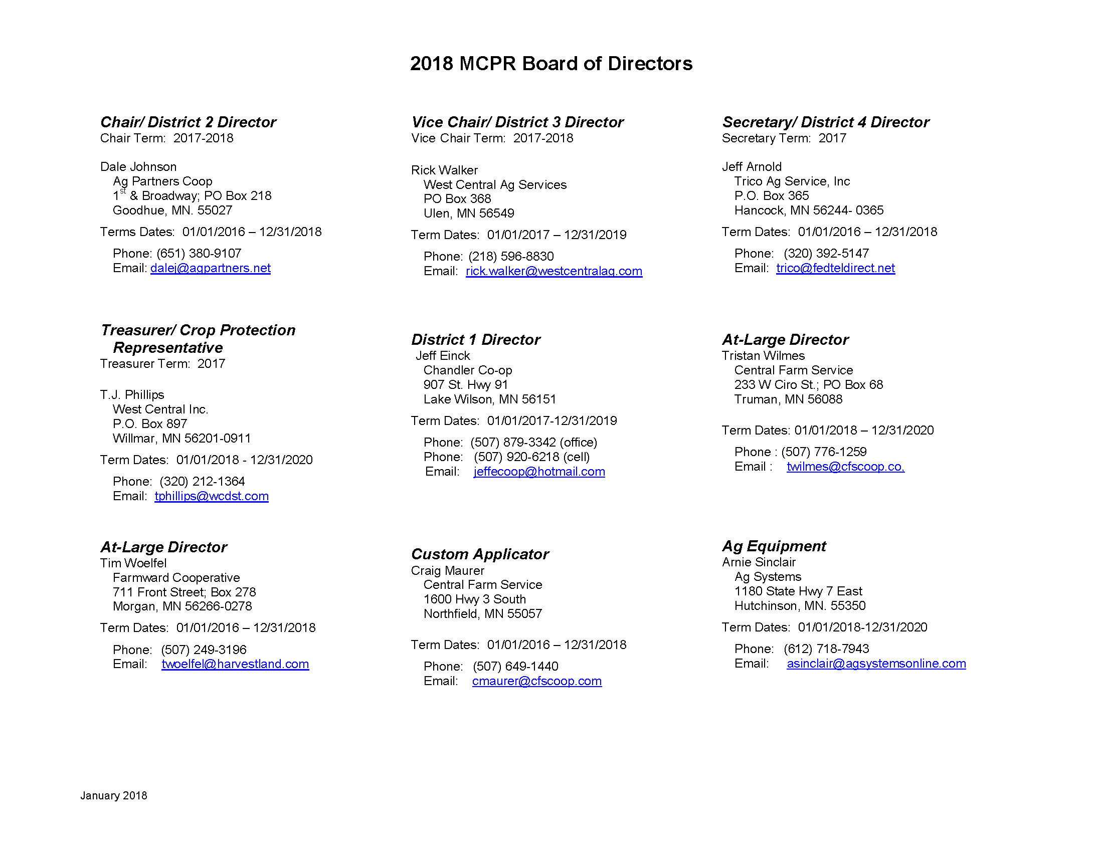 2018 MCPR Board of Directors_August2018_Page_1