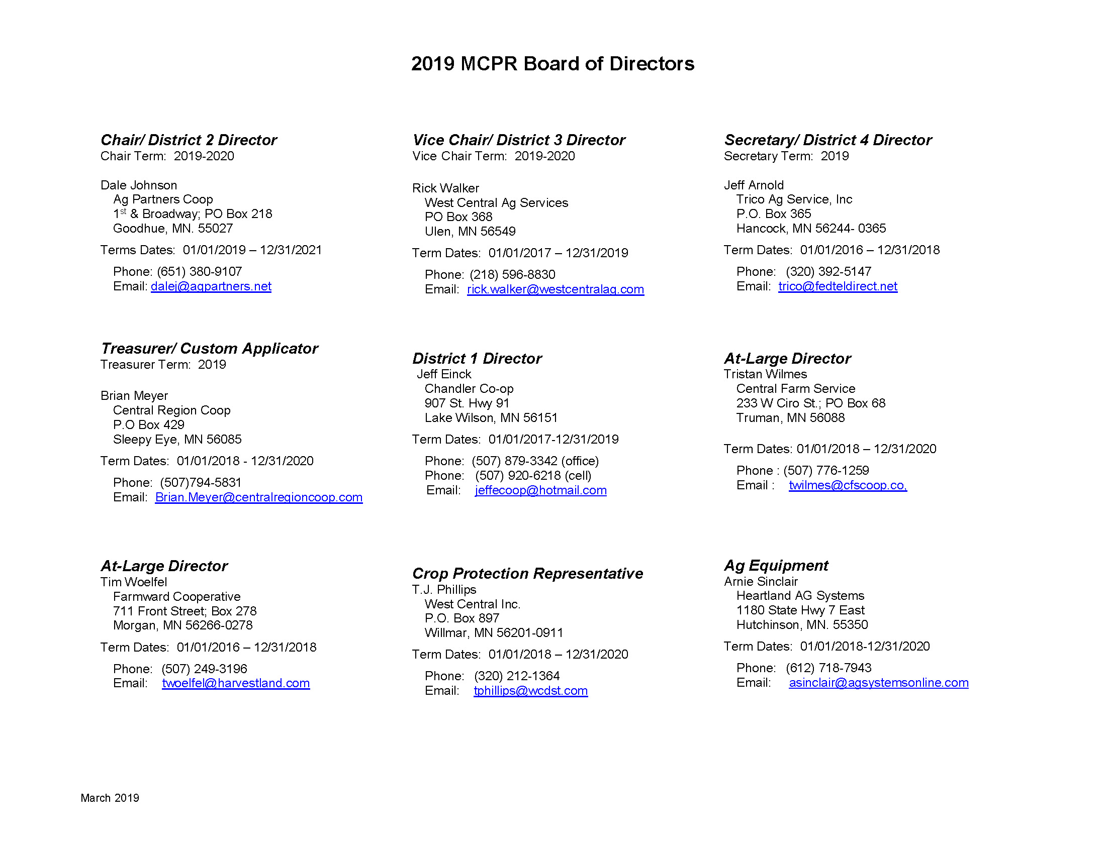 2019 MCPR Board of Directors_March2019_Page_1
