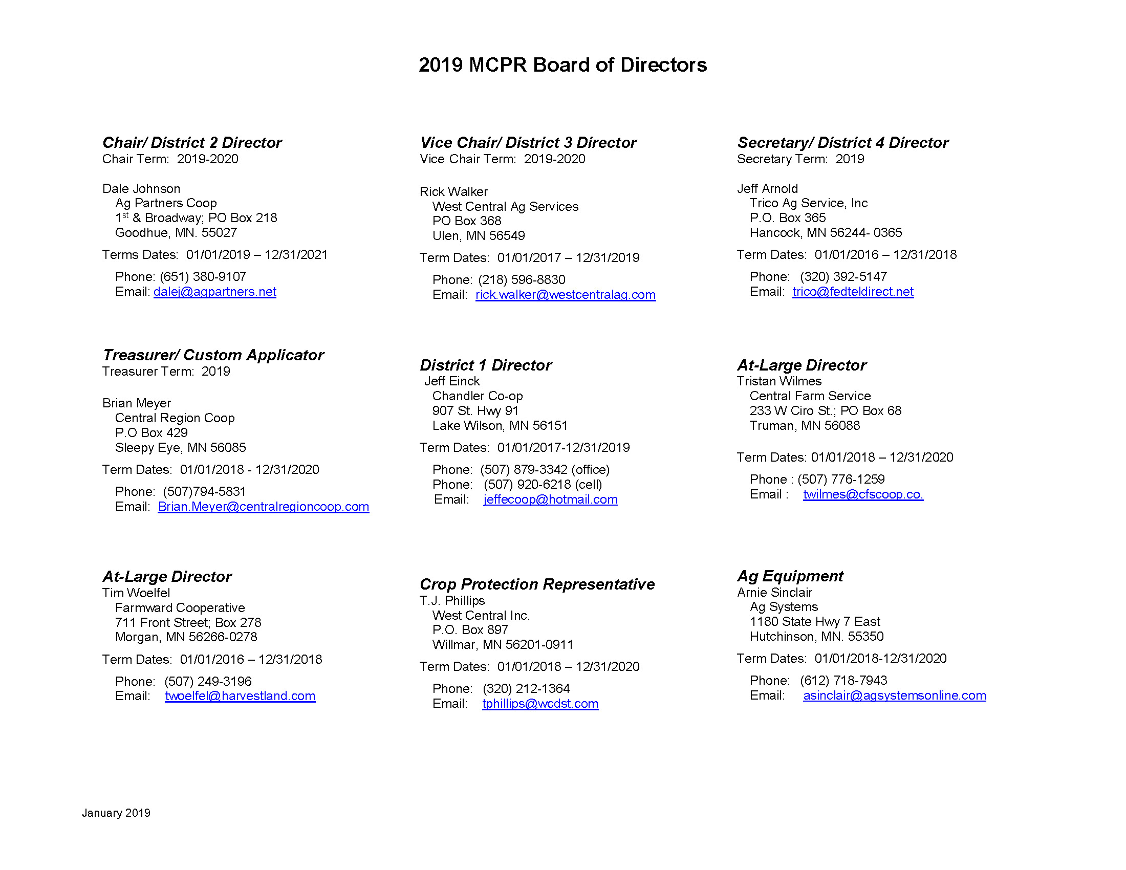 2019 MCPR Board of Directors_Page_1
