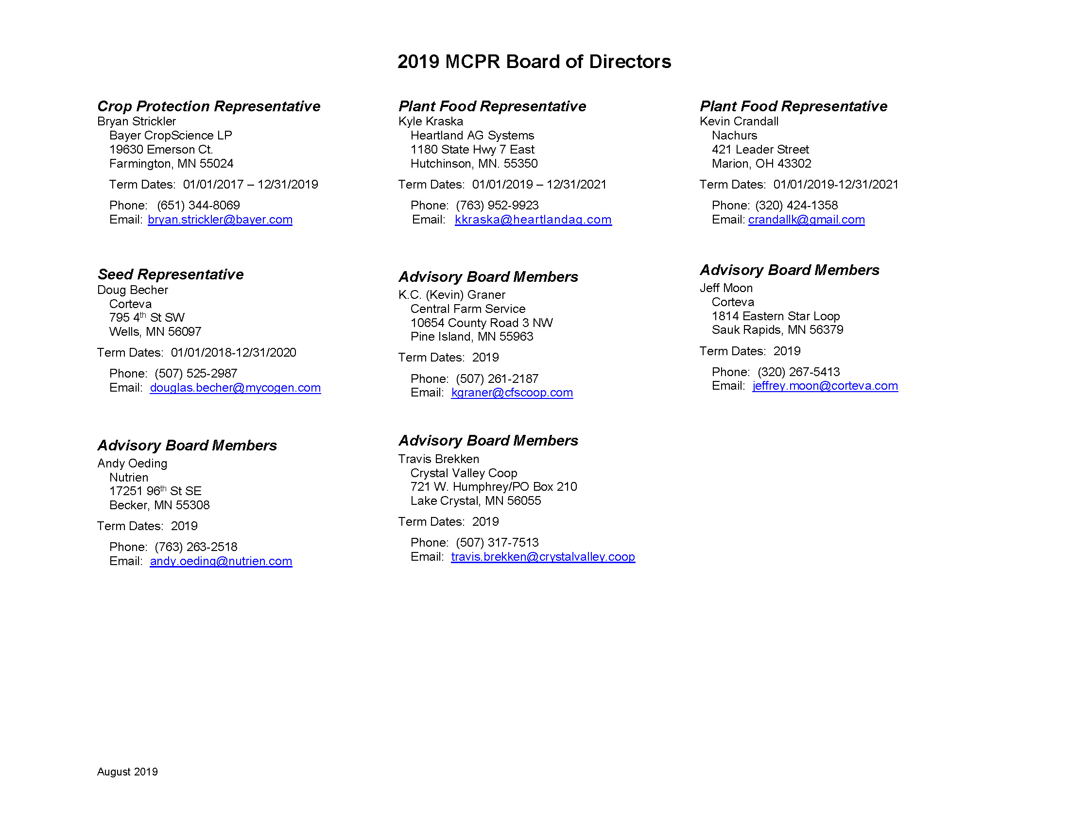 2019 MCPR Board of Directors_August_2019_Page_2