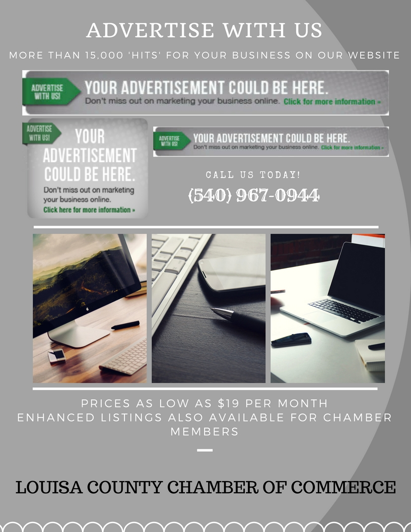 ADVERTISE WITH US - Website Ads Flyer
