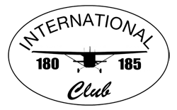 International 180 185 Club Logo
