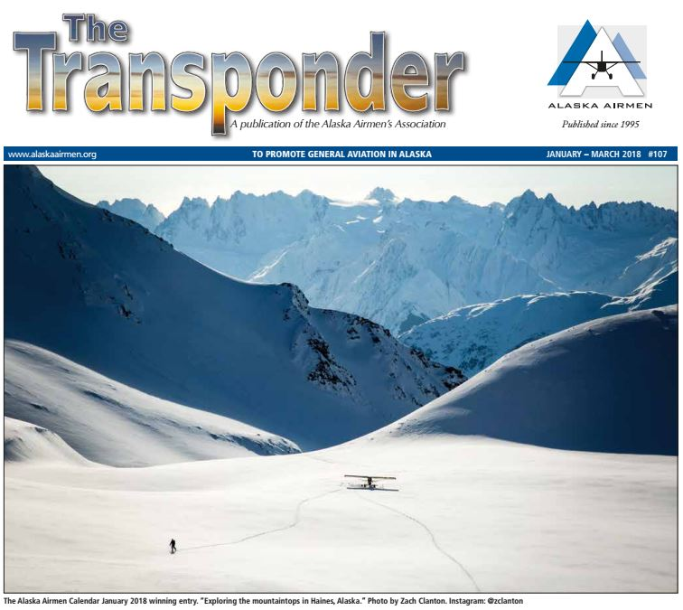 January - March Transponder Cover