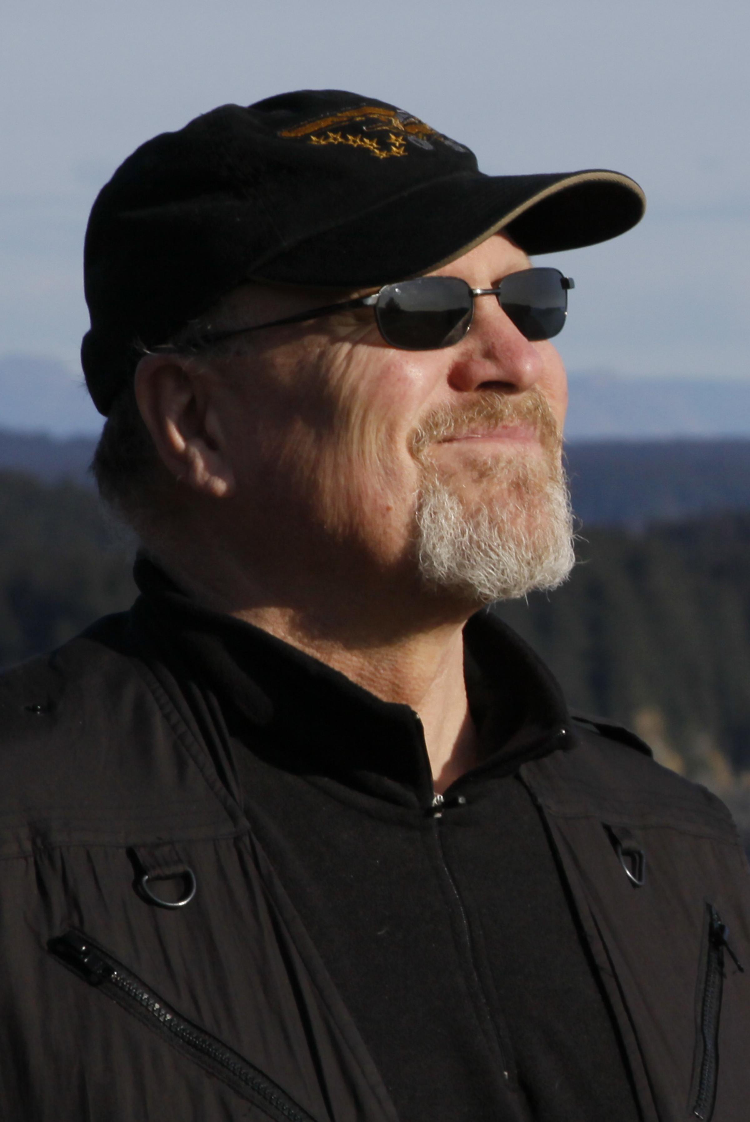 Image of Rob Stapleton while on Kodiak Island.