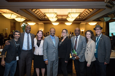 CCIA Board member Michael Steinmitz, Assemblymember Jim Cooper, CCIA Senior Policy Director Amy Jenkins, Assemblymember Reggie Jones-Sawyer, CCIA Board member Juli Crockett, Senator Steve Bradford, CCIA Board members Kristi Knoblich and Andrew D'Angelo