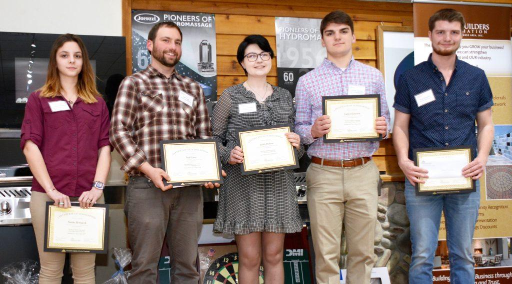 2018 Spring Scholarships