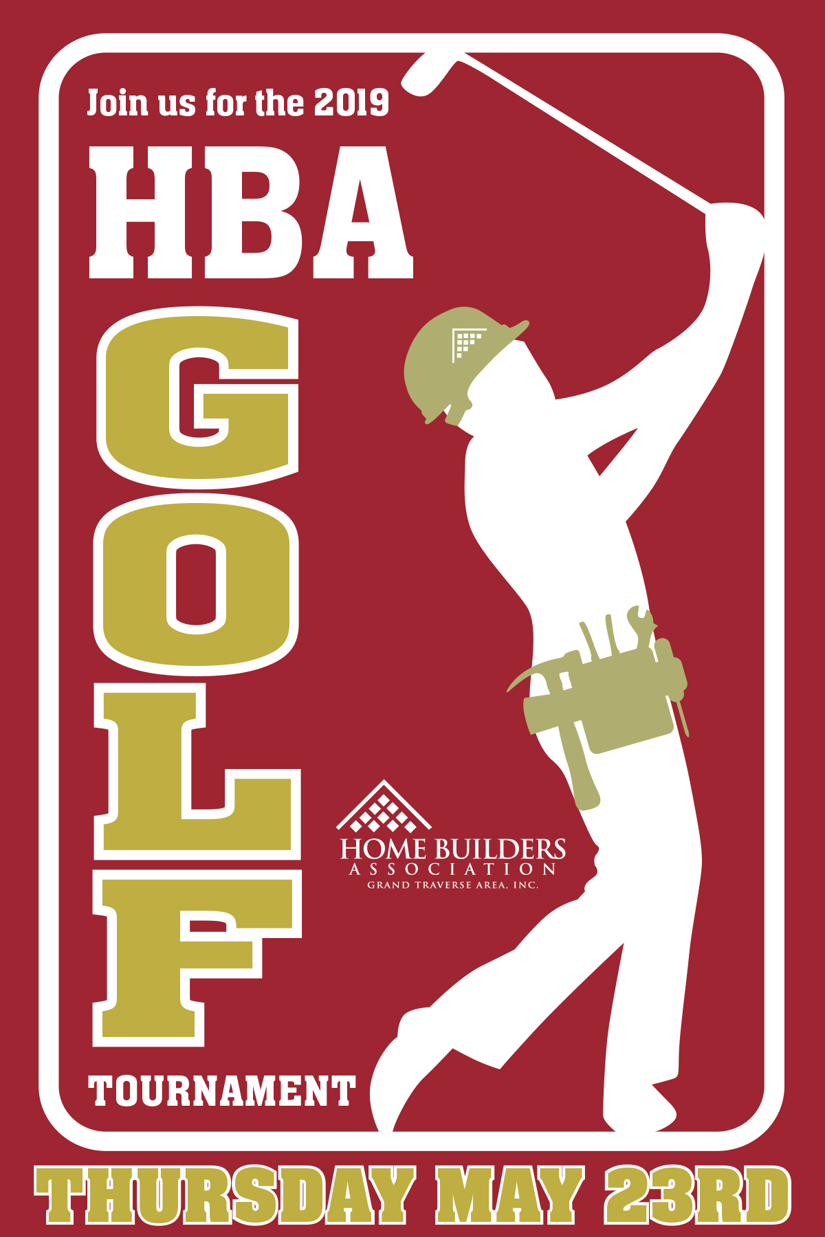 2019 HBA Golf Tournament logo
