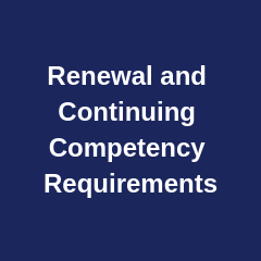 Renewal Requirements