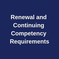 Renewal Requirements