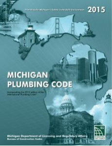 2015 Michigan Plumbing Code