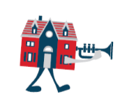 Trumpet House Clear Background