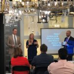 Host Victoria Reczkowski of Ferguson in Ramsey NJ welcomes attendees and introduces presenters Richard Gaynor and Jared Lans, Esq.