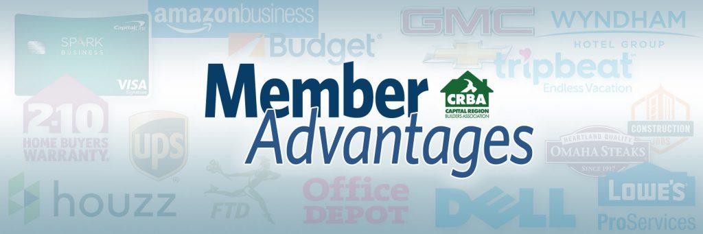 Capital Region Builders Association Member Advantages