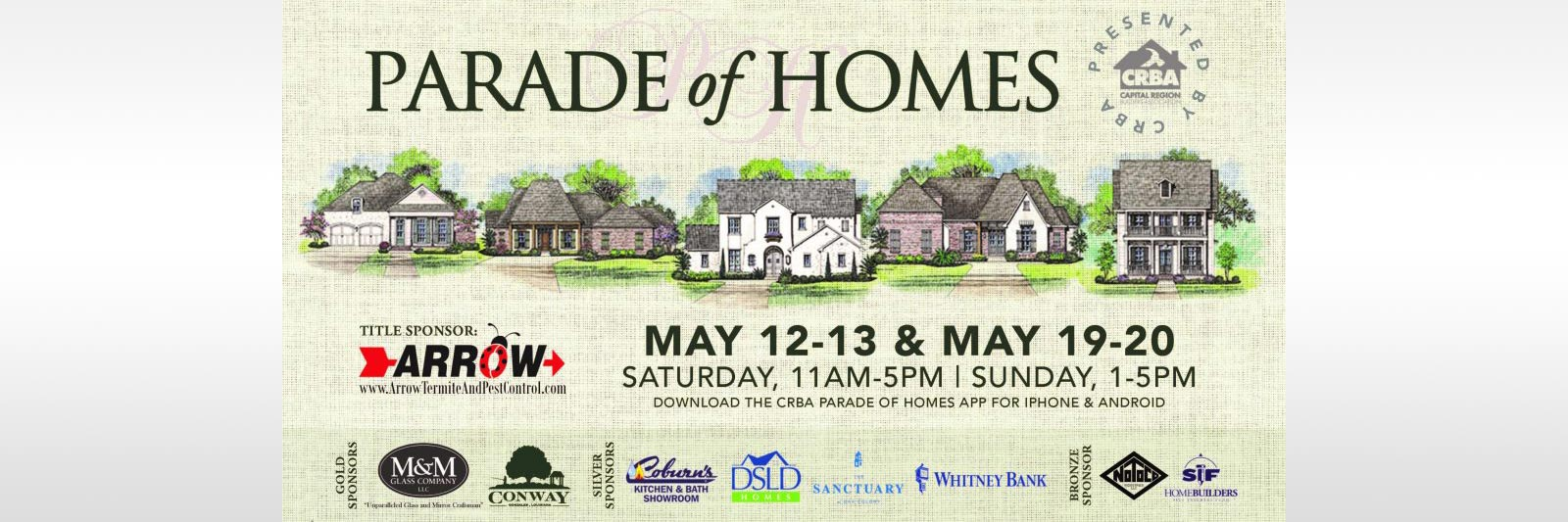 2018 Parade of Homes in Baton Rouge