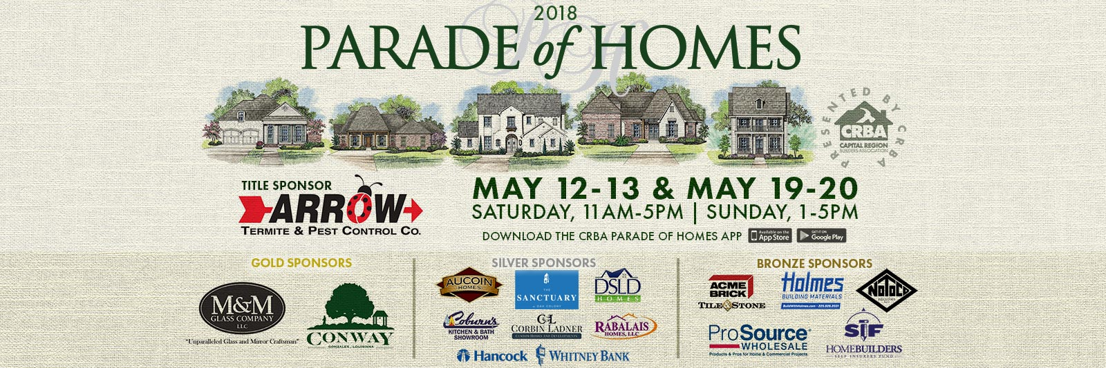 2018 CRBA Parade of Homes