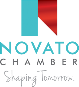 Novato Chamber Logo Vertical With Tagline