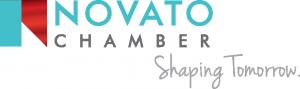Novato Chamber Logo Horizontal Tagline