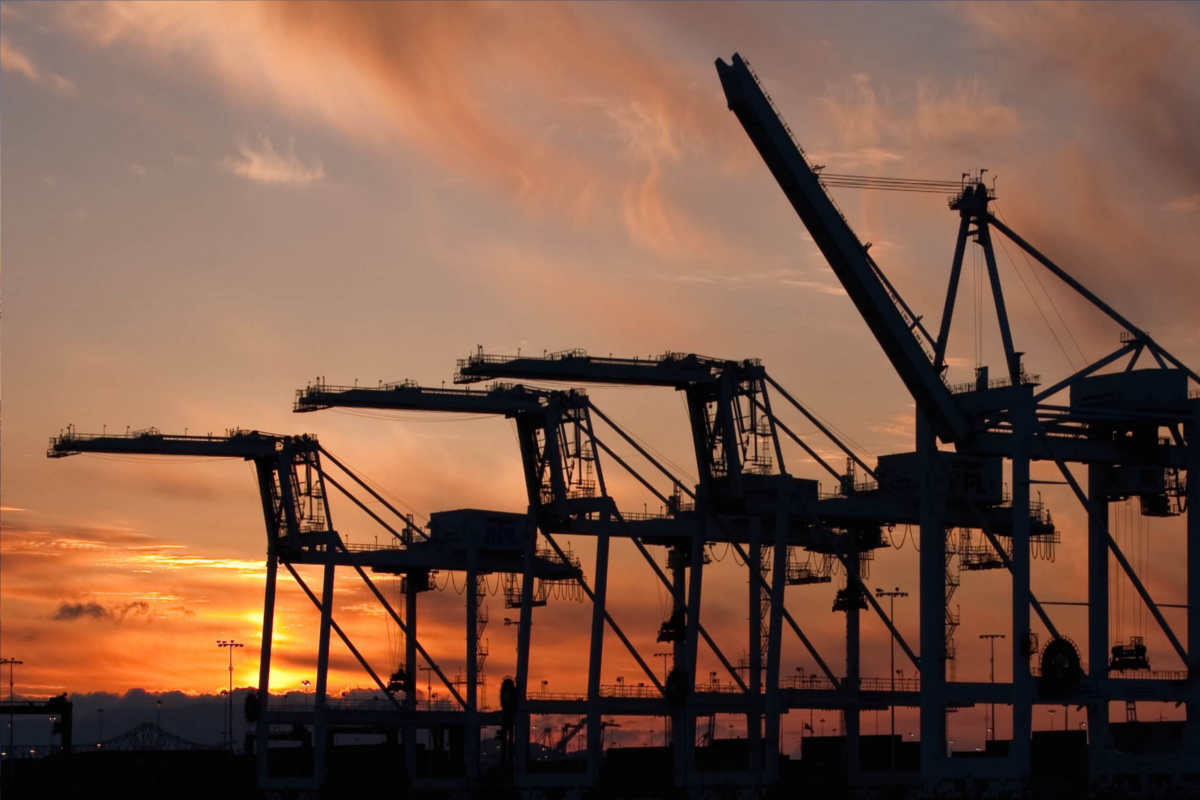 Developing an import/export industry is easy with the Port of Oakland so nearby.