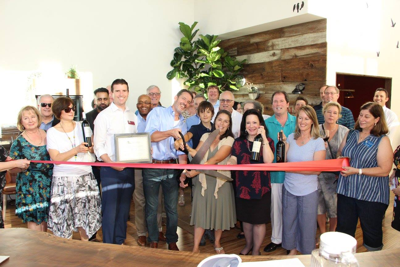 The Ribbon Cutting at Mantra Winery in Downtown Novato (2017)
