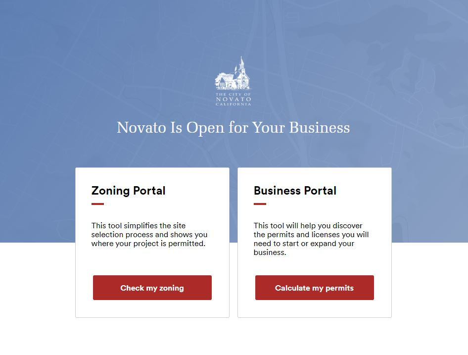Novato Business License Portal