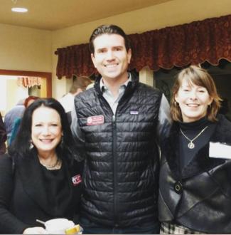 Novato Chamber Mixer Athas Eric Lucan Senior Settlers Valley Memorial Park