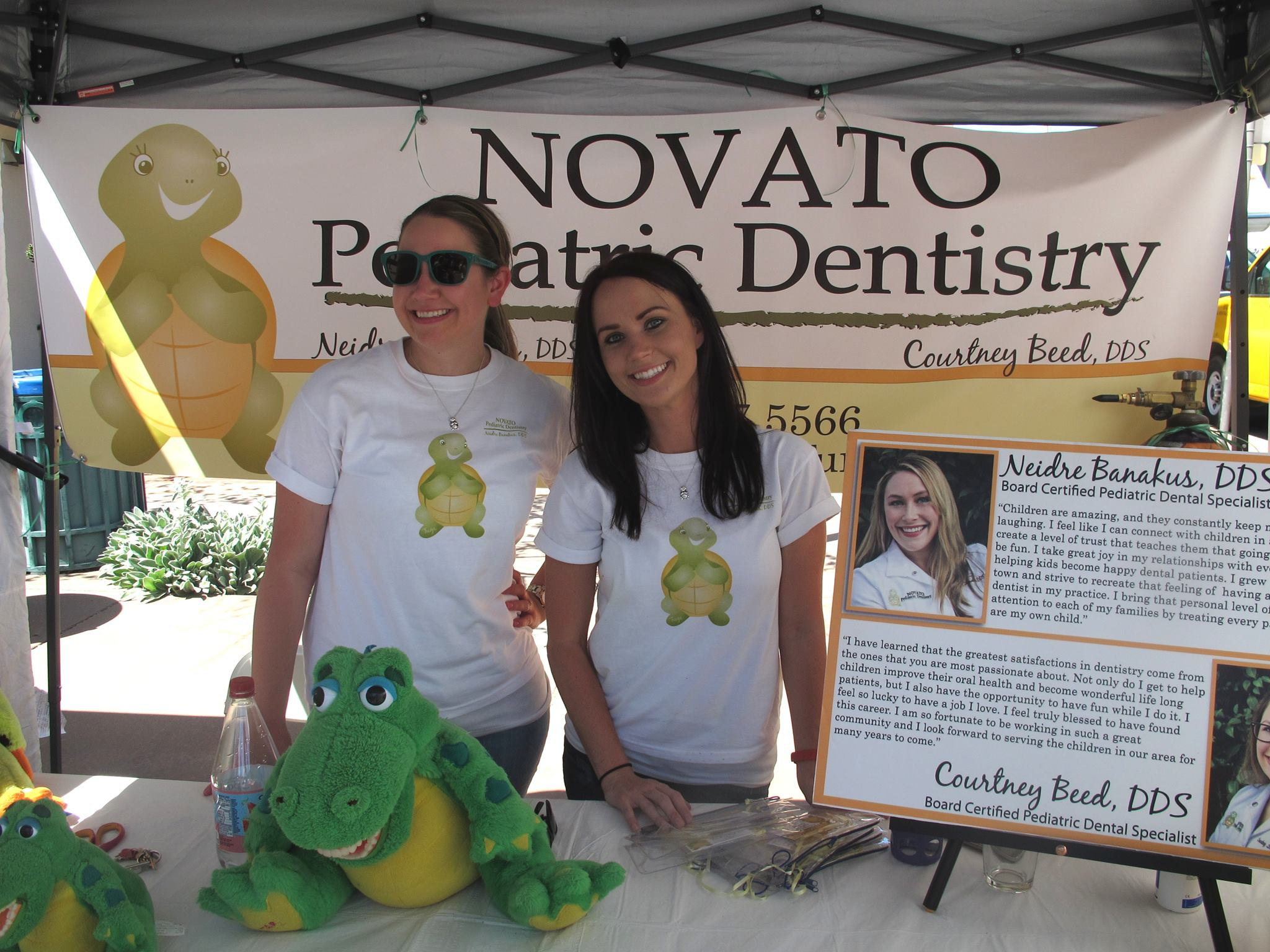 Pediatric Dentistry at the Novato Chamber Festival of Art, Wine and Music