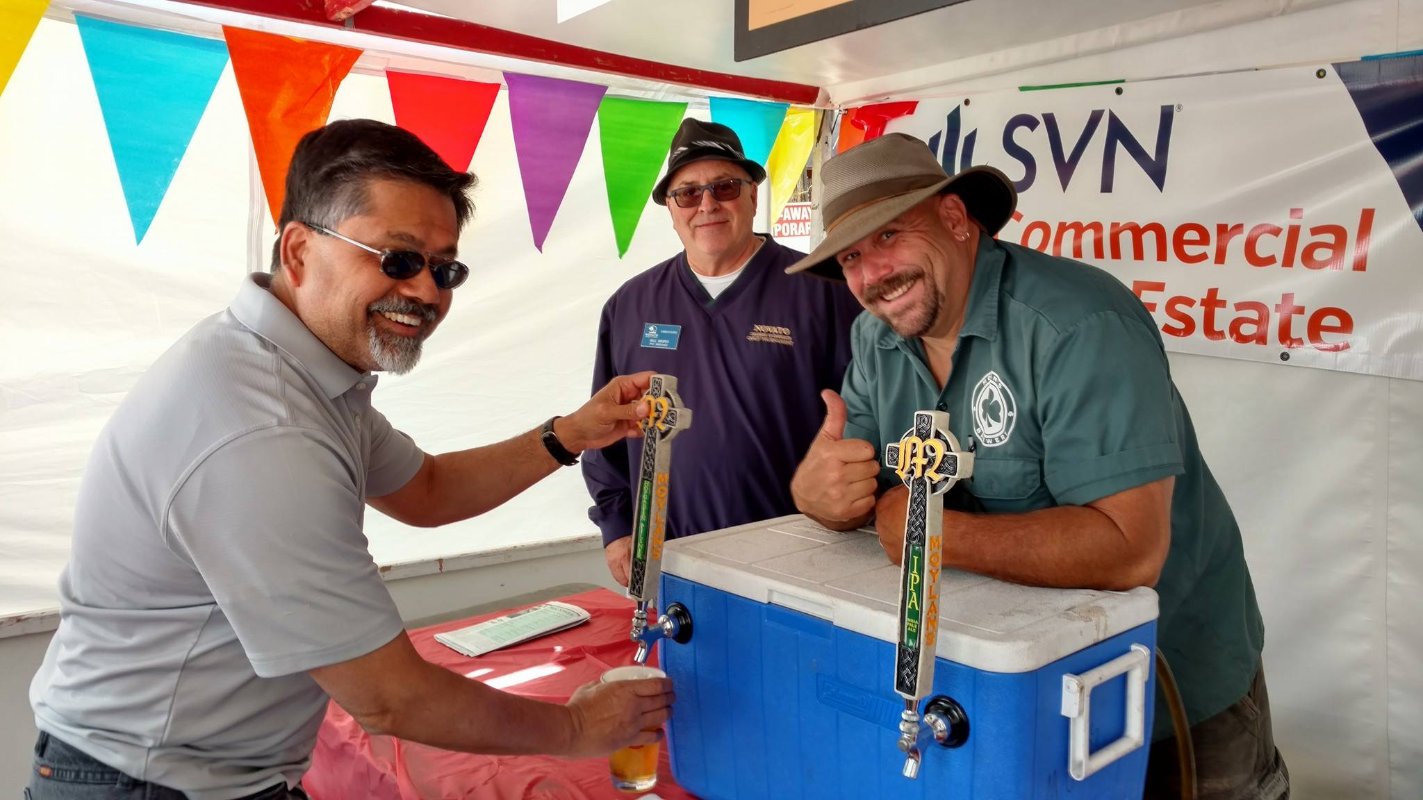 We are always looking for dedicated volunteers to help us pour beer, wine and assist with clean up and take down