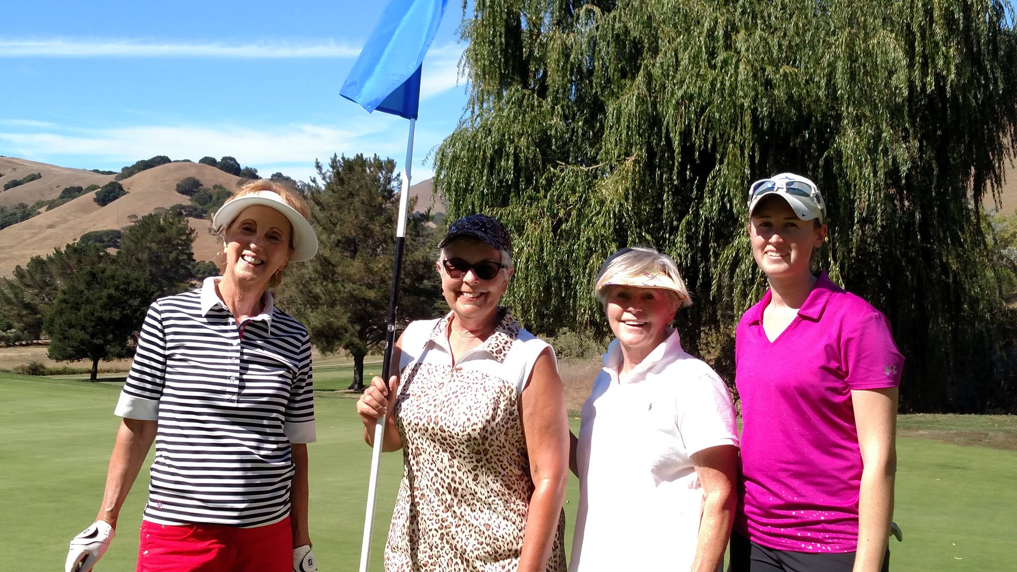 Ladies Golfing Novato CHamber Indian Valley