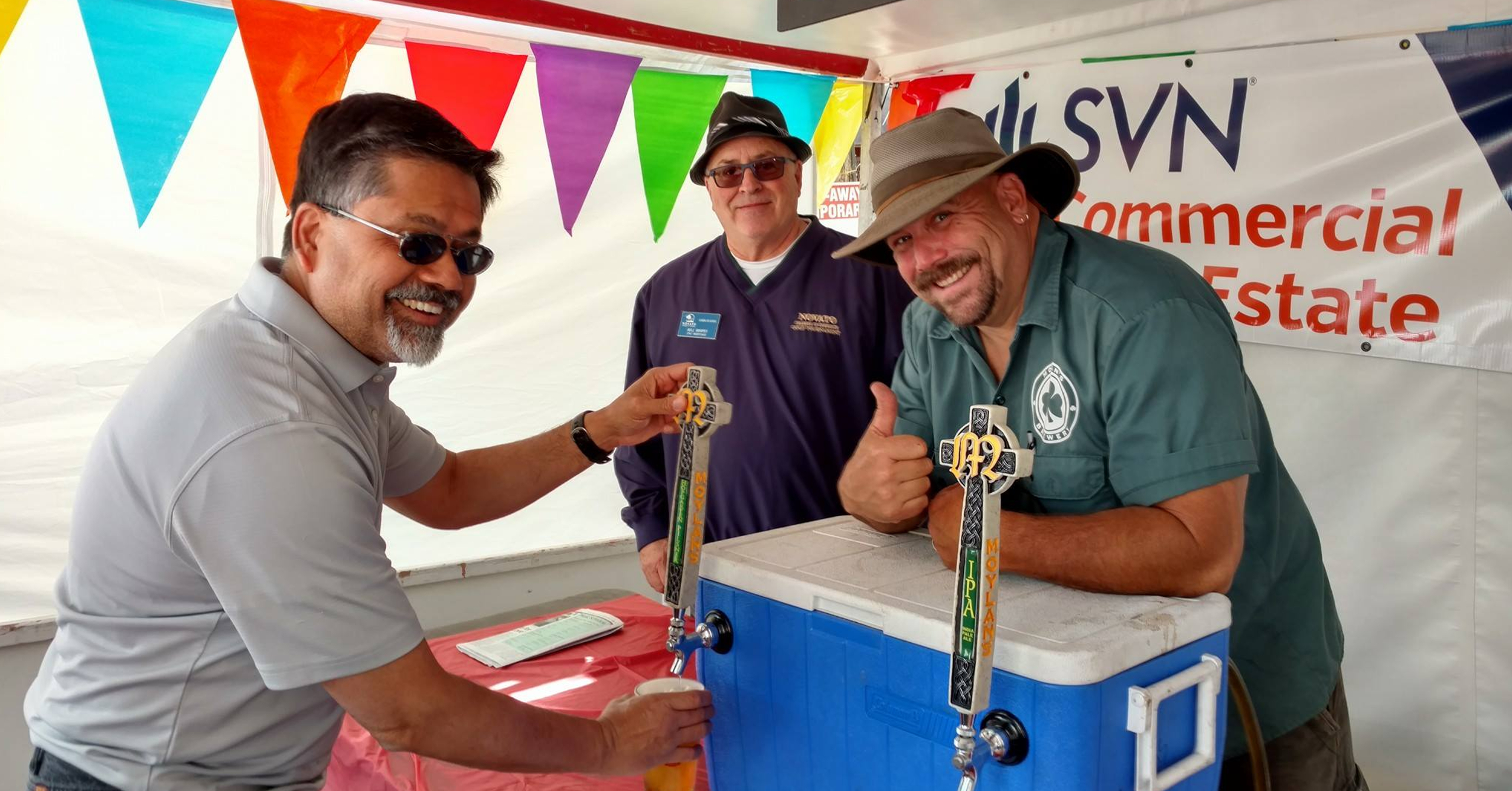 beer brewery pour mouylans Novato Chamber