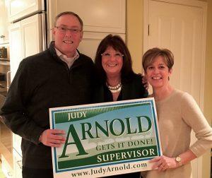 Judy supports business, economics development Novato Chamber
