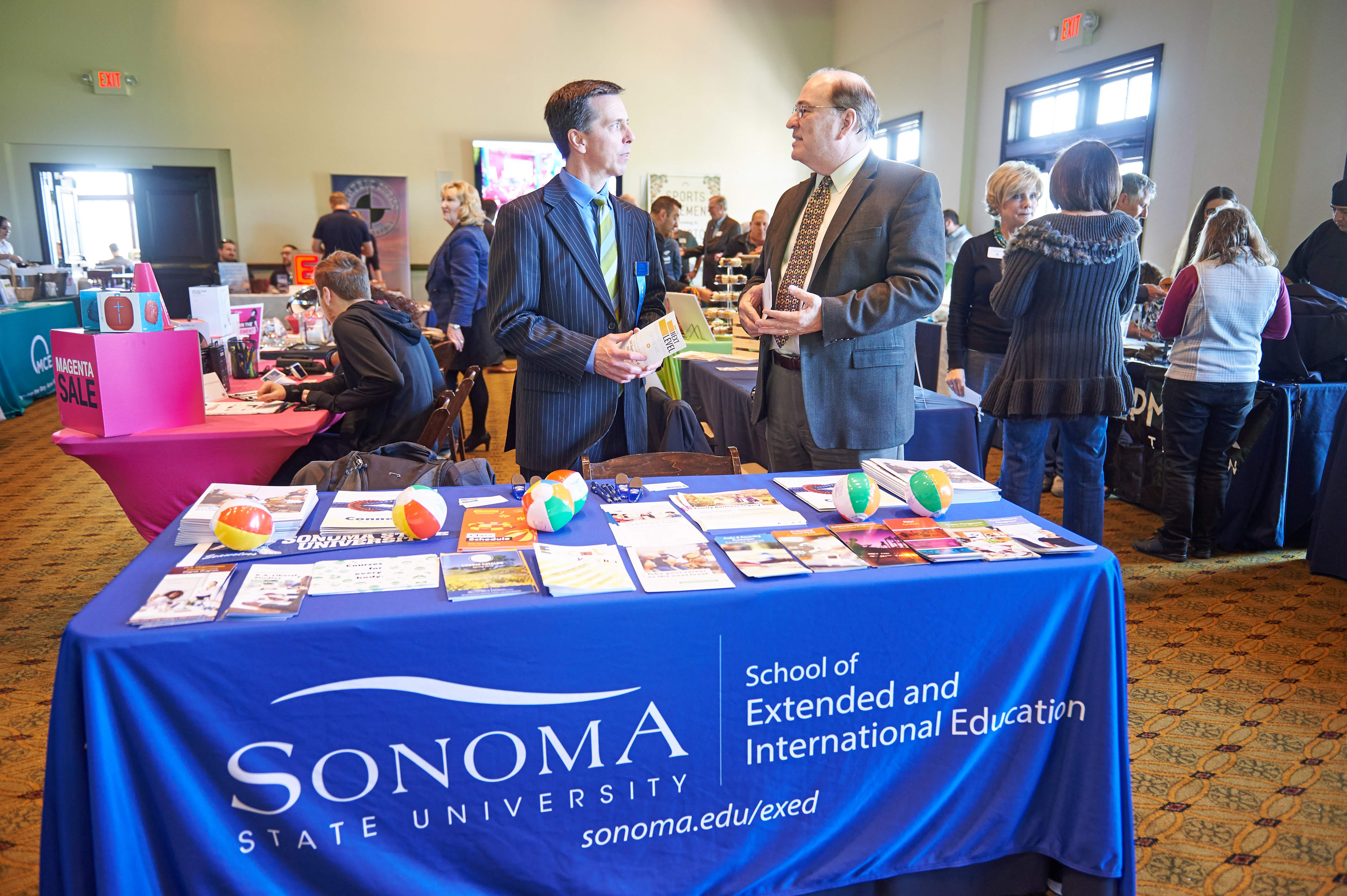 North Bay BUsiness Expo Tradesho Showcase San Rafael Novato Chamber Sonoma State
