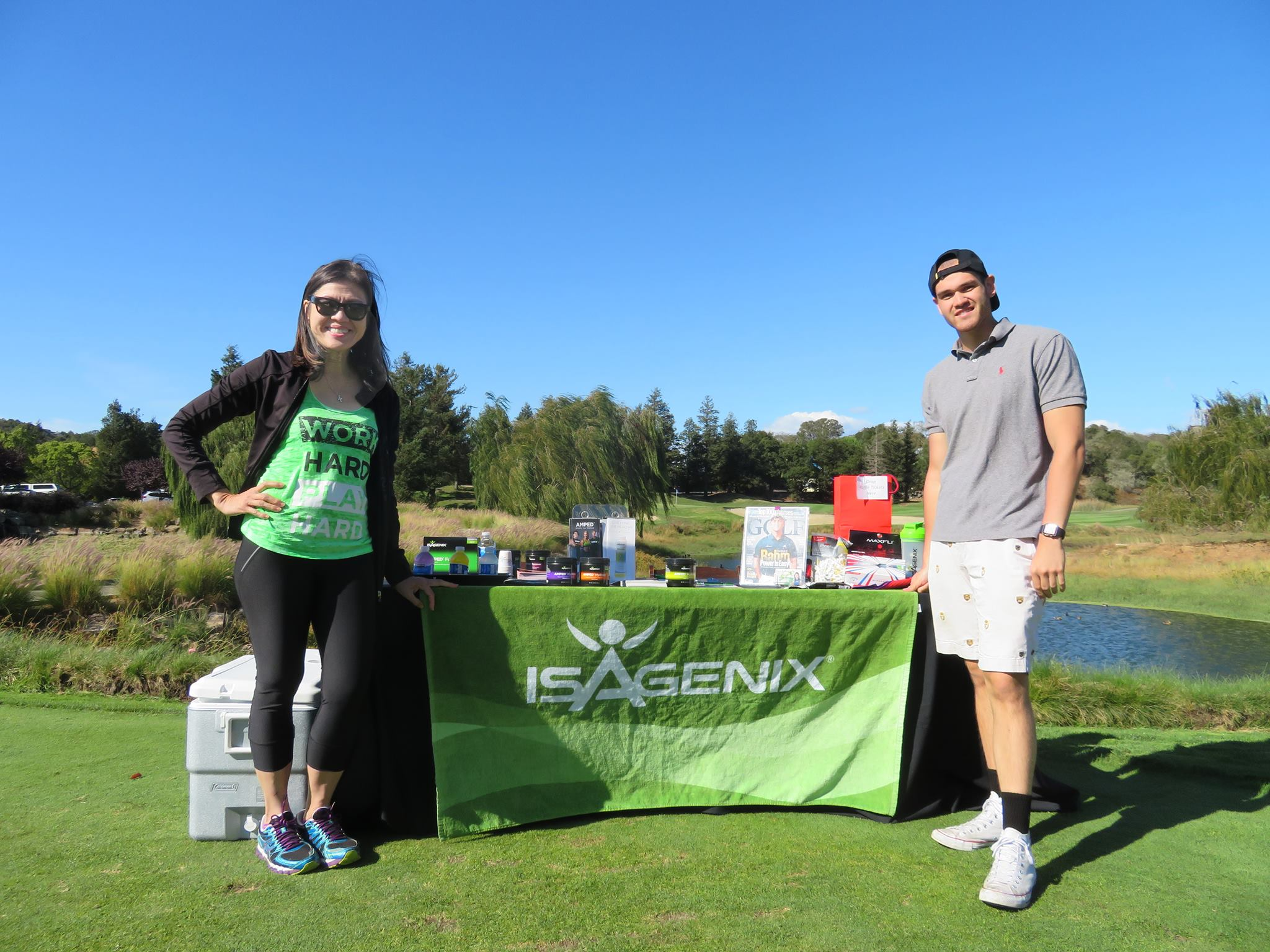 Imee Birkett Novato Chamber Golf Activities Best TOurnamenrt too many