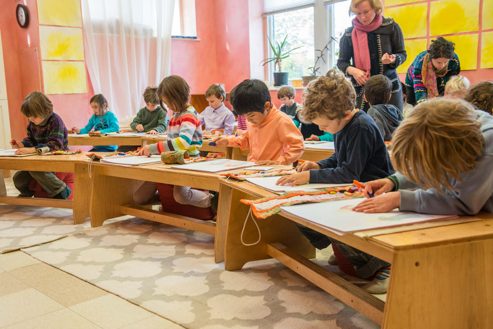 Hummingbird Next Collaborative Preschool North Marin Waldorf School sensory integration