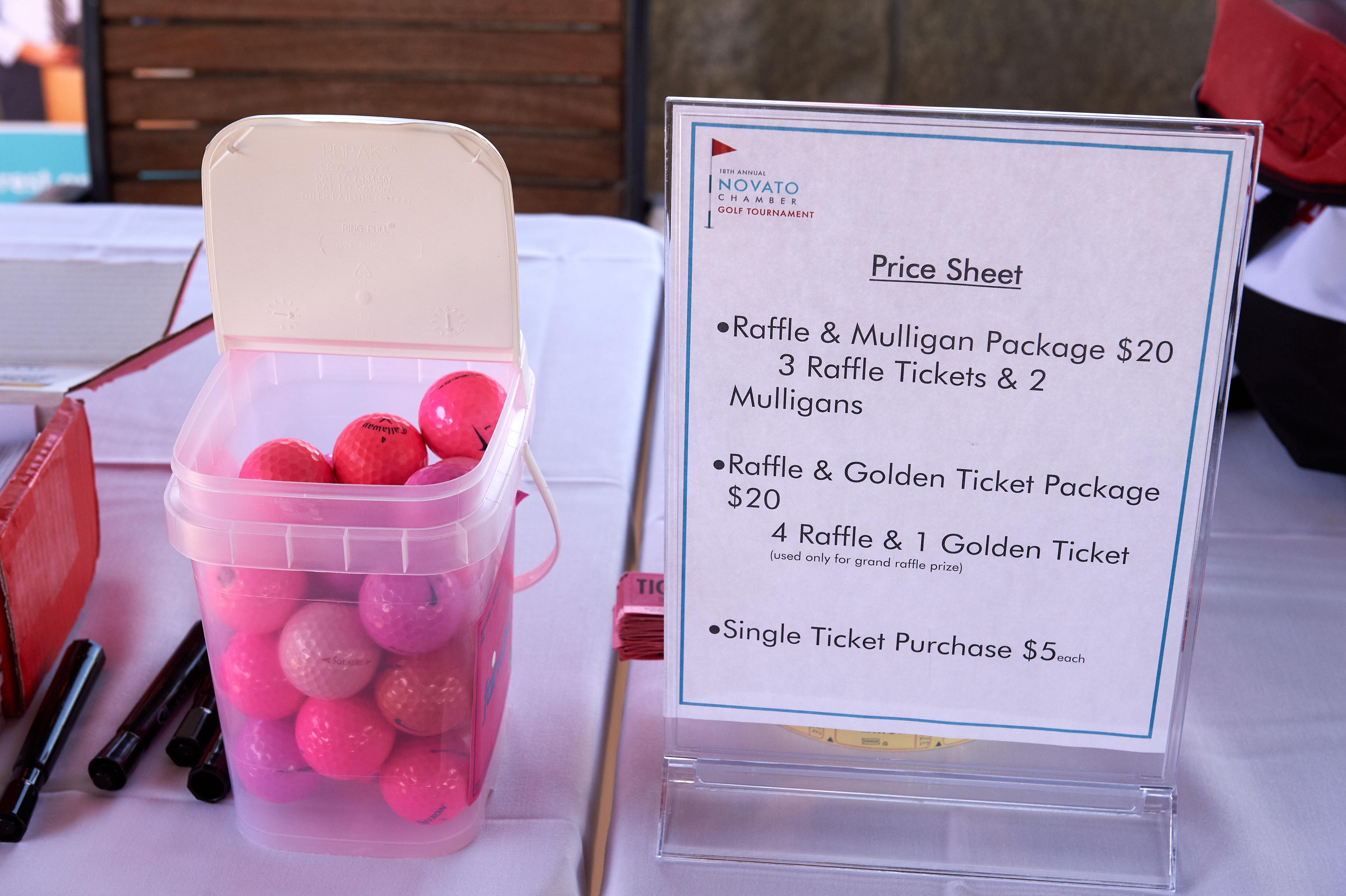 Pink Ball Challenge Novato CHamber