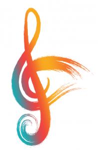FAWM Logo Novato Chamber Festival Art Wine color PNG 2019