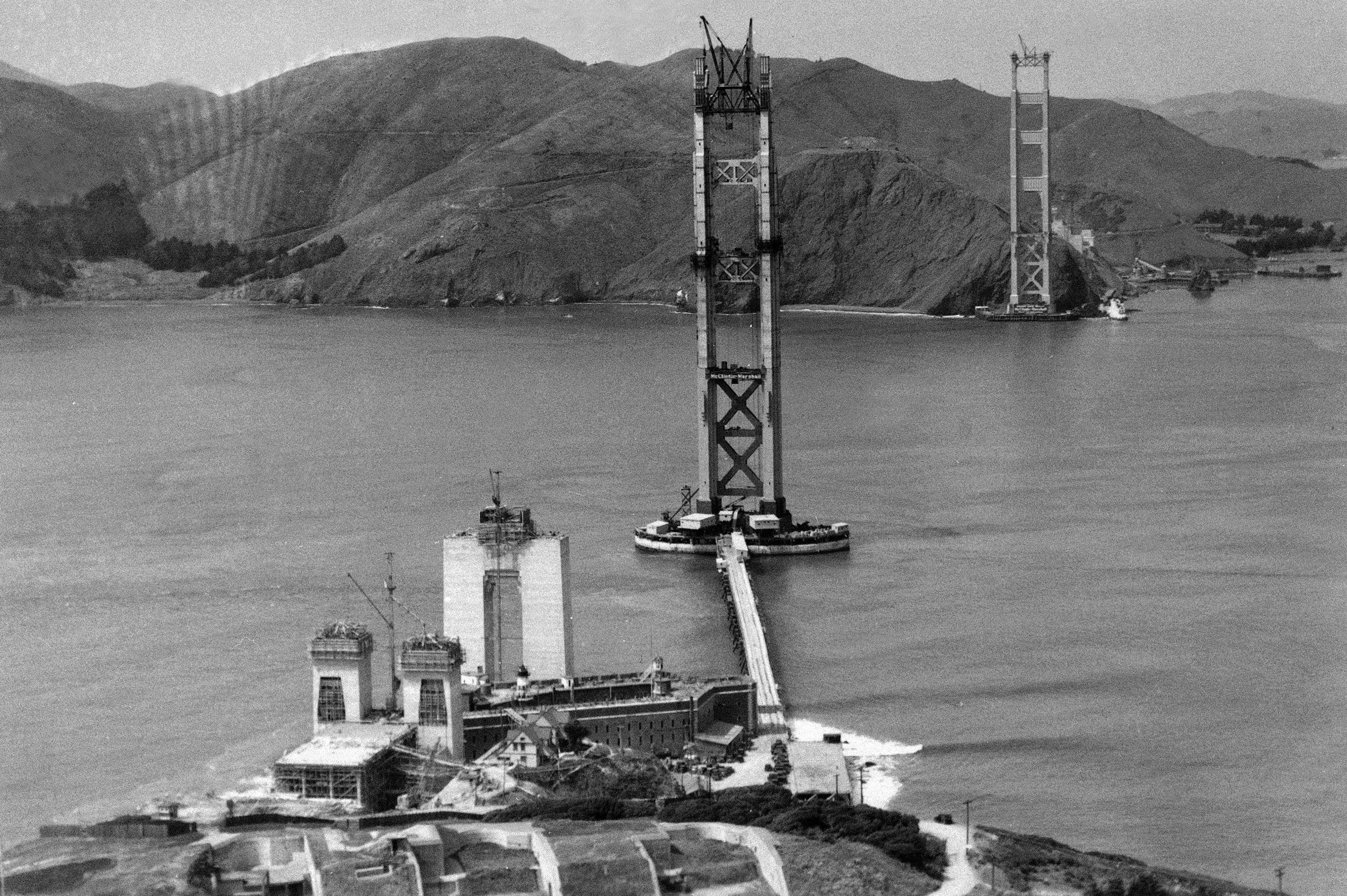 golden gate briudge history
