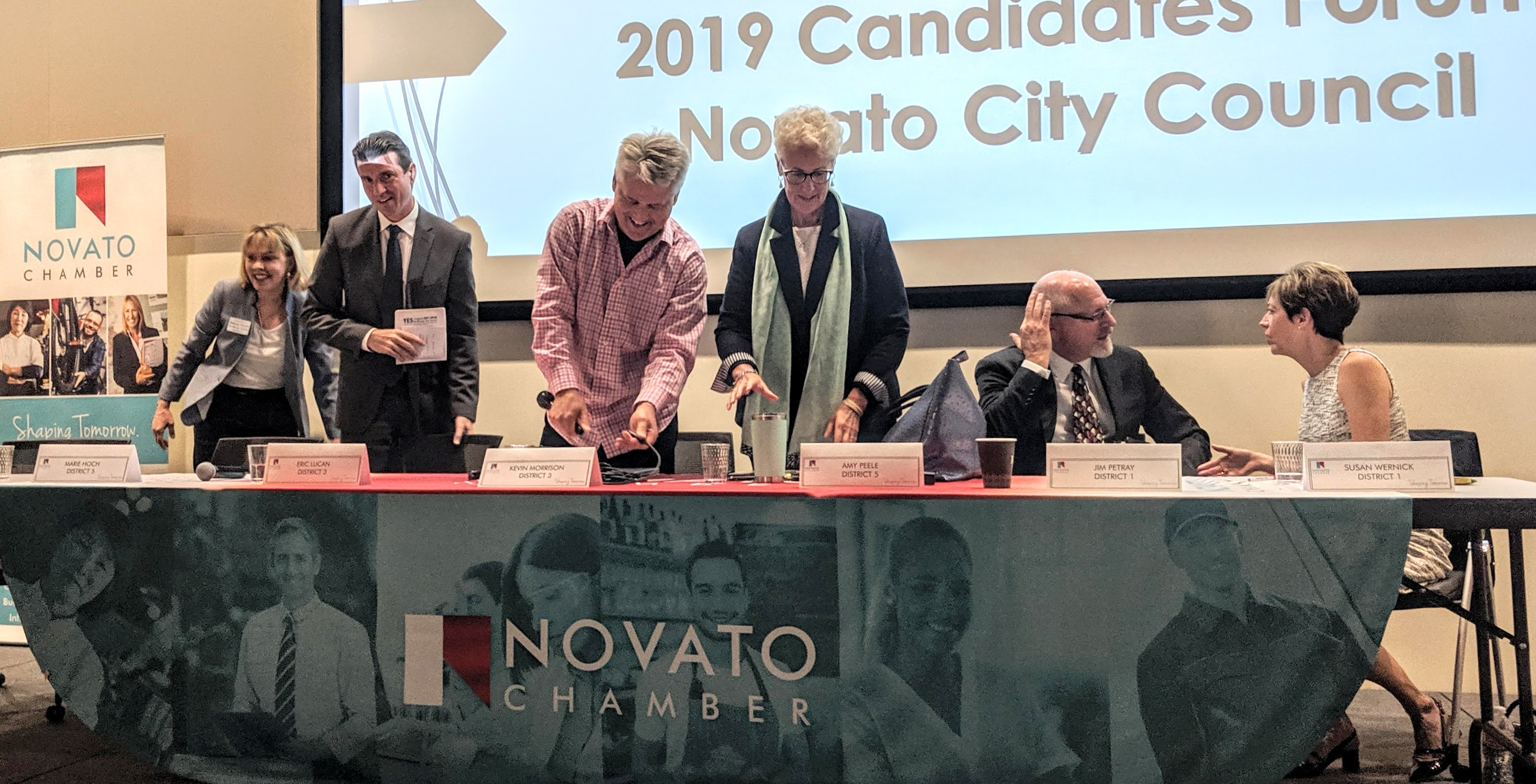 2019 City Council Elections for Novato Novato Chamber of Commerce Candidates