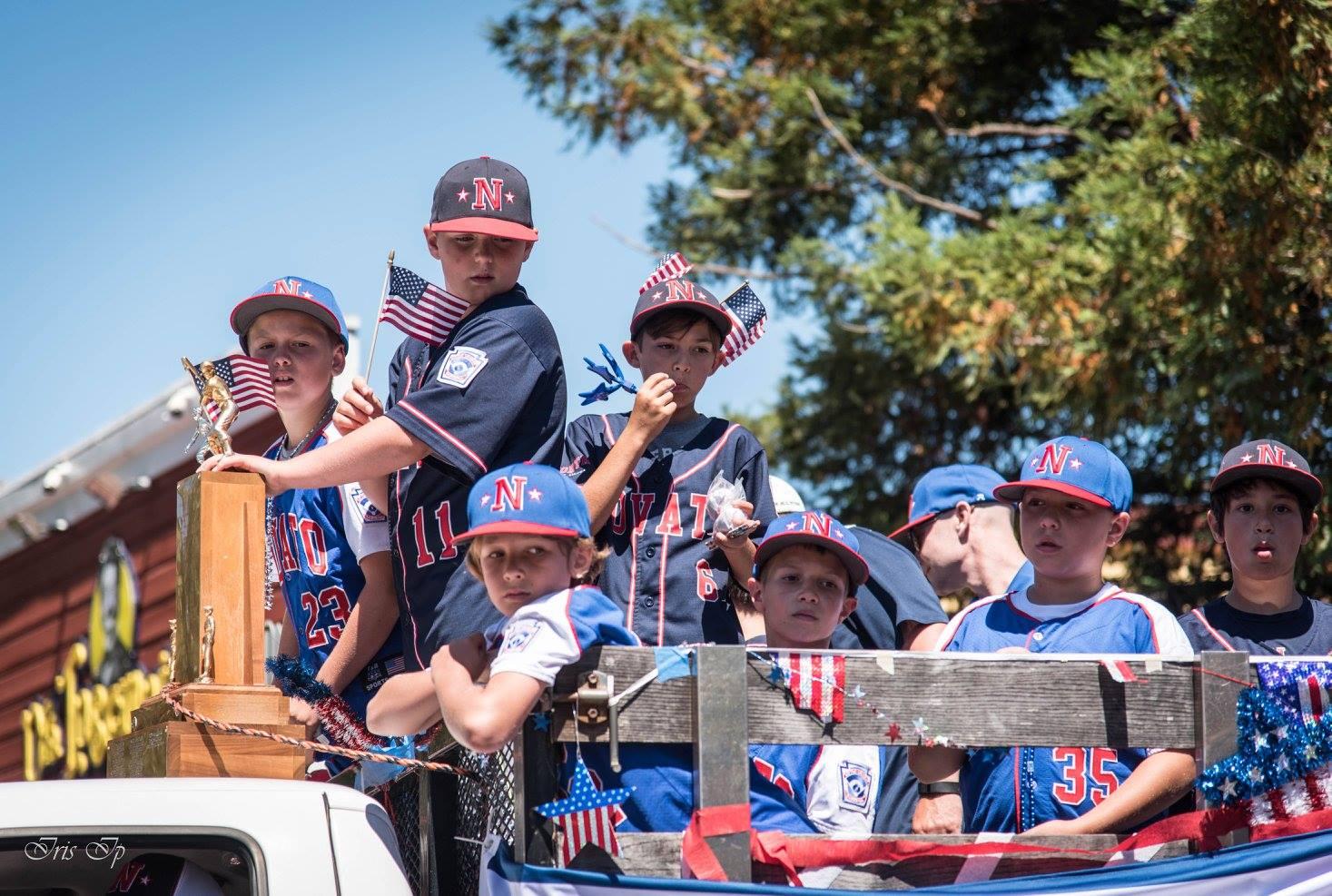 Little League Parade - April