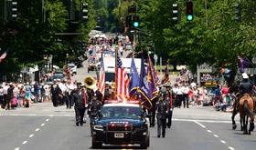 Elks Flag Day parade