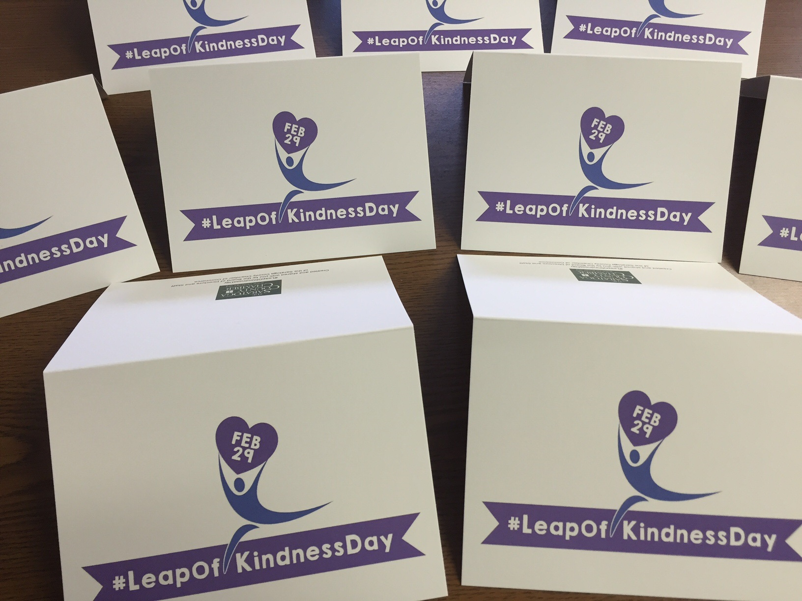 leap of kindness cards