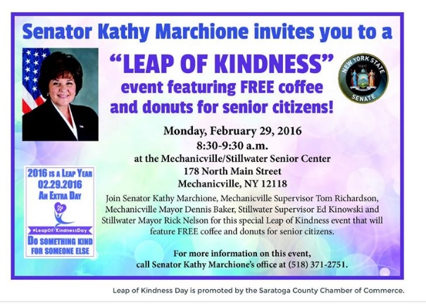 FB - Free coffee with Senator Marchione