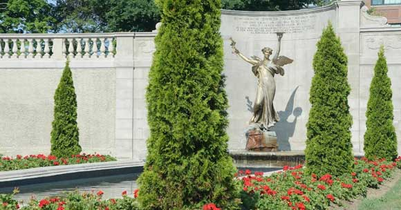 Spirit of Life statue in Congress Park