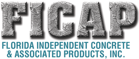 Florida Independent Concrete and Associated Products Incorporated Logo