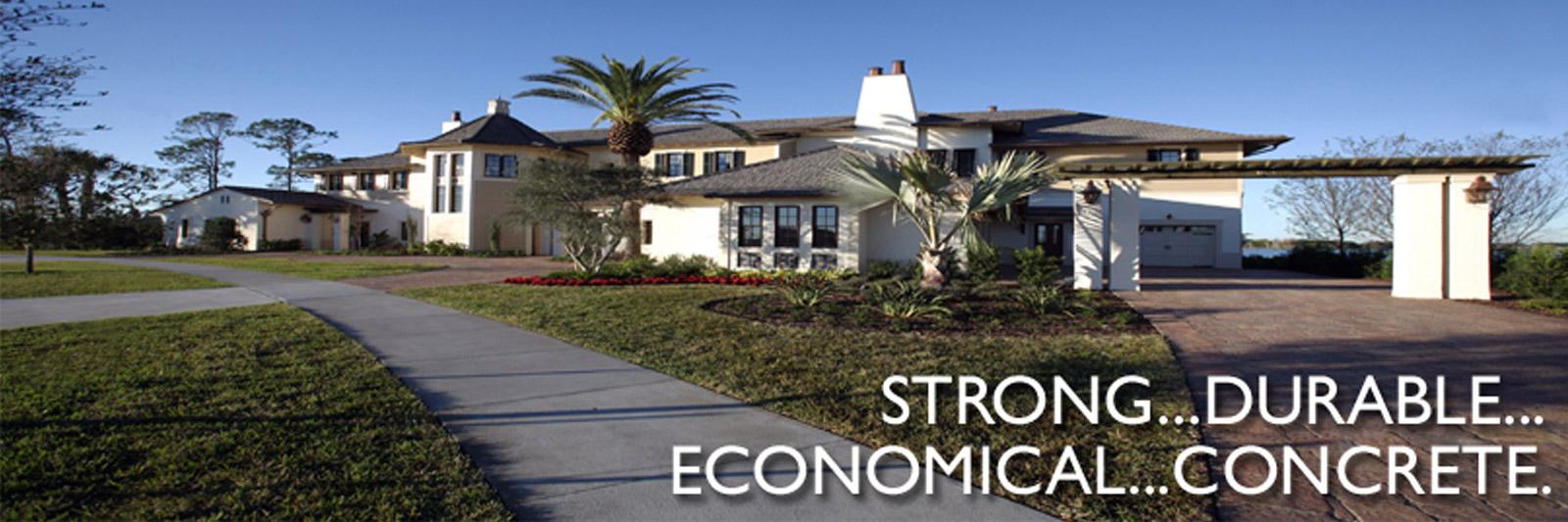 Strong, Durable, Economical Concrete