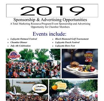 2019 Sponsorship FRONT COVER