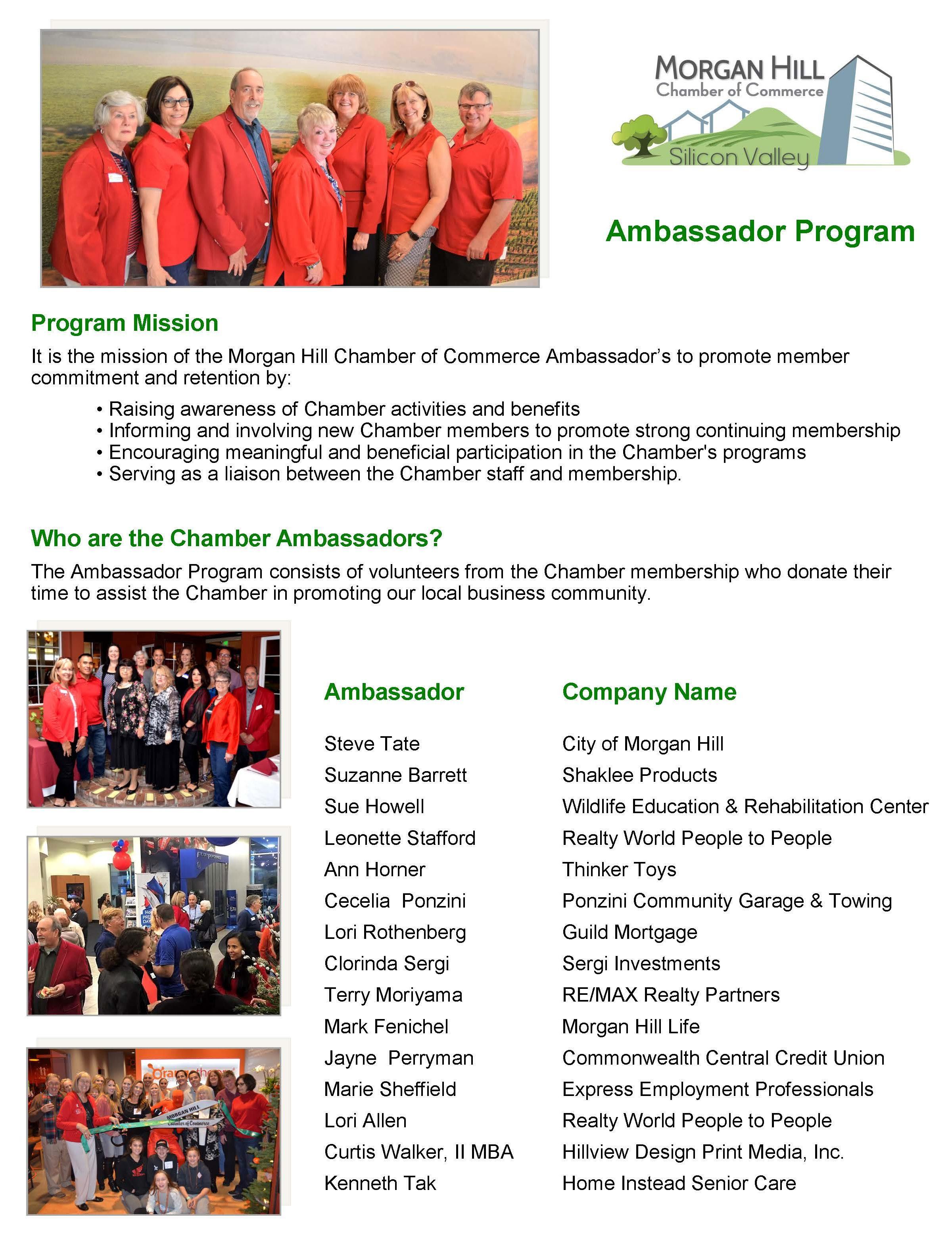 ambassador page